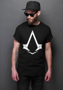 Camiseta Masculina  Assassin's Creed - Nerd e Geek - Presentes Criativos