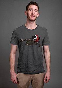 Camiseta Masculina  Mario Wars - Nerd e Geek - Presentes Criativos