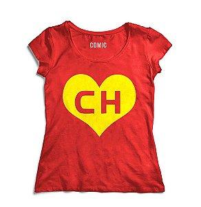 Camiseta Feminina Chapolin - Nerd e Geek - Presentes Criativos