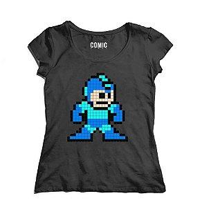 Camiseta Feminina Mega Men