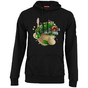 Blusa com Capuz Super Mario