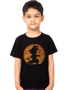 Camiseta Infantil Dragon Ball - Nerd e Geek - Presentes Criativos
