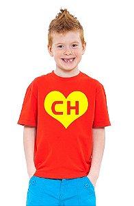Camiseta Infantil Chapolin - Nerd e Geek - Presentes Criativos