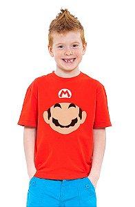Camiseta Infantil Super Mario Word - Game