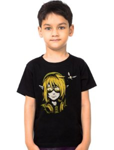 Camiseta Infantil The Legend of Zelda - Link