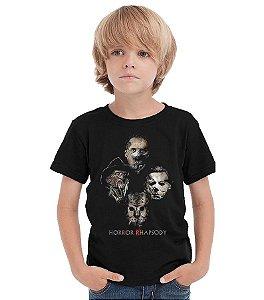 Camiseta Infantil Killers - Nerd e Geek - Presentes Criativos