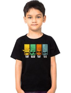 Camiseta Infantil Pokemon - Nerd e Geek - Presentes Criativos