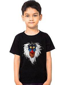 Camiseta Infantil Rei Leão