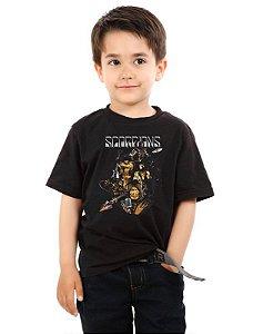 Camiseta Infantil Scorpions - Nerd e Geek - Presentes Criativos