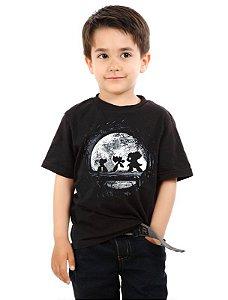 Camiseta Infantil Megaman, Dr willy, Zero