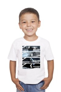 Camiseta Infantil Walker - Nerd e Geek - Presentes Criativos