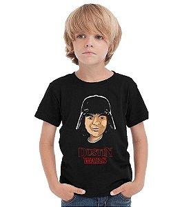 Camiseta Infantil Stranger Things - Dustin Wars