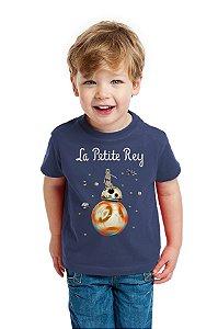 Camiseta Infantil La Petite Rey - Star Wars