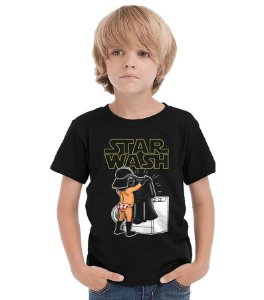Camiseta Infantil Star Wash