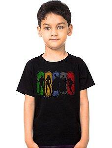 Camiseta Infantil League set justice