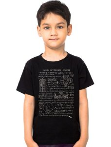 Camiseta Infantil Relative Space - Nerd e Geek - Presentes Criativos