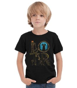 Camiseta Infantil The Lord of the Rings - Nerd e Geek - Presentes Criativos