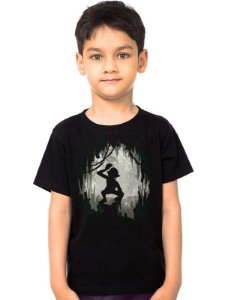 Camiseta Infantil Senho dos Aneis - My Precious - Nerd e Geek - Presentes Criativos