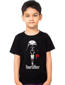 Camiseta Infantil Star Wars Darth Vader Your Father