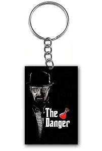 Chaveiro Heisenberg The Danger - Nerd e Geek - Presentes Criativos