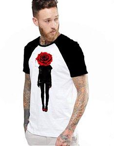 Camiseta Raglan King33 Roses
