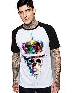 Camiseta Raglan King33 King Skull