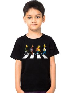 Camiseta Infantil The Simpsons - Nerd e Geek - Presentes Criativos