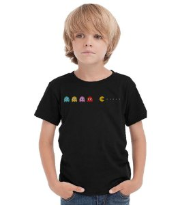 Camiseta Infantil Pac-man Game - Nerd e Geek - Presentes Criativos