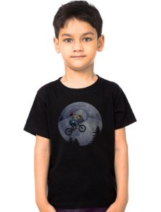 Camiseta Infantil Pokemon E.T - Nerd e Geek - Presentes Criativos