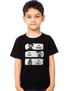 Camiseta Infantil Dragon Ball The Good