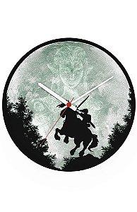 Relógio de Parede Legend of Zelda Moon - Nerd e Geek - Presentes Criativos