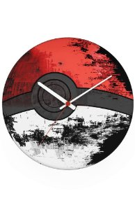 Relógio de Parede Pokemon - Nerd e Geek - Presentes Criativos
