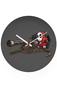 Relógio de Parede Mário Wars - Metralhadora