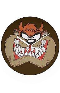 Relógio de Parede Tasmanian Devil - Nerd e Geek - Presentes Criativos