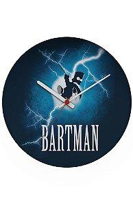 Relógio de Parede Simpson Bartman - Nerd e Geek - Presentes Criativos