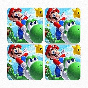 Porta Copos Super Mario Word - Game