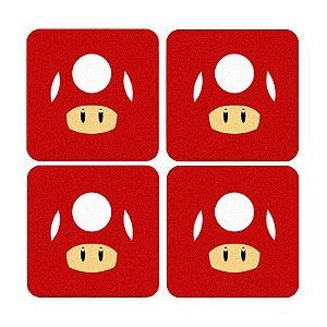 Porta Copos Toad - Nerd e Geek - Presentes Criativos