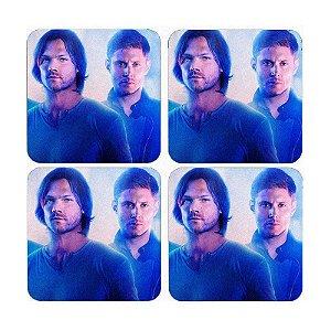 Porta Copos Supernatural - Dean e Sam