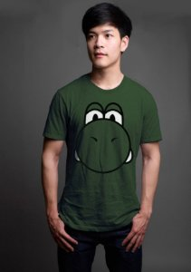 Camiseta Masculina   Yoshi - Game - Nerd e Geek - Presentes Criativos