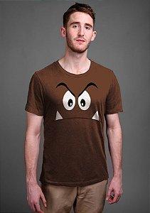 Camiseta Masculina  Goomba - Nerd e Geek - Presentes Criativos