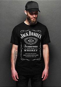 Camiseta Masculina  Jack Daniels - Nerd e Geek - Presentes Criativos