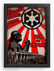 Quadro Decorativo Darth Vader Empire