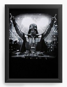 Quadro Decorativo DJ Darth Vader