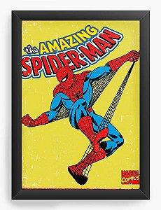 Quadro Decorativo Homem Aranha