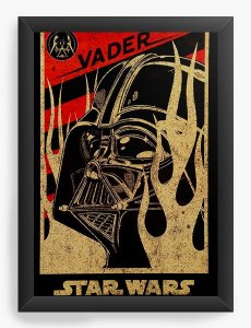 Quadro Decorativo Darth Vader Star Wars