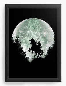 Quadro Decorativo The Legend of Zelda - Nerd e Geek - Presentes Criativos