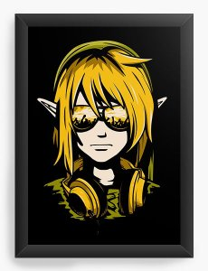 Quadro Decorativo Link - Nerd e Geek - Presentes Criativos