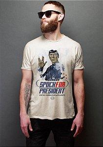 Camiseta Masculina  Spock - de Star Trek - Nerd e Geek - Presentes Criativos