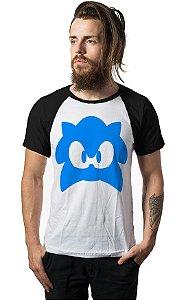Camiseta Raglan Pac-Man - Nerd e Geek - Presentes Criativos