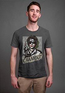 Camiseta Masculina  Chamou? - Nerd e Geek - Presentes Criativos